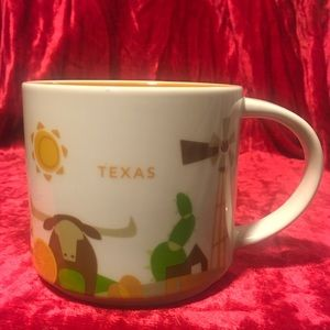 """TEXAS """"You Are Here"""" 2015 15 Oz Coffee Cup (flaw)"""